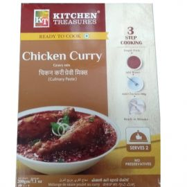 Kitchen Treasures Chicken Curry (Culinary paste) - 200g
