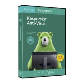 Kaspersky Antivirus 2020,1 Device + 1 User – 1 Year