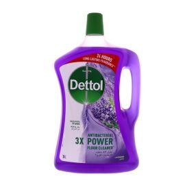 Dettol Power Antibacterial Floor Cleaner Lavender - 3L