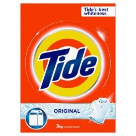 Tide Laundry Powder Detergent Original Scent - 3Kg