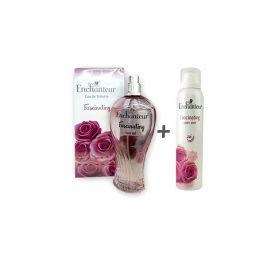 Enchanteur Fascinating  Perfume For Women 100ml EDT + 75ml Body Mist (Combo)