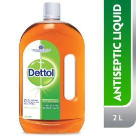Dettol Anti Bacterial Antiseptic Liquid - 2L