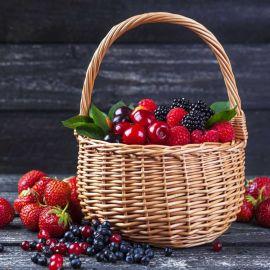 Fresh Fruit Basket (Fruit Chees Box 1.5Kg)