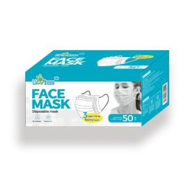 3 Layer Disposable Face Mask - 50pcs