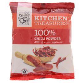Kitchen Treasures 100%Chilly Powder - 200g
