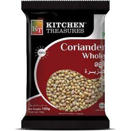 Kitchen Treasures Coriander Whole 100g