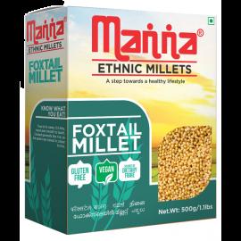 Manna Ethnic Foxtail Millets - 500g