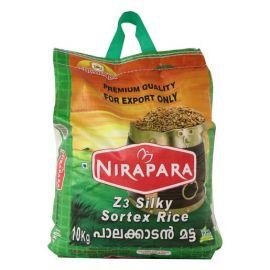 Nirapara Z3 Silky Sorted Palakkadan Matta Rice - 10Kg